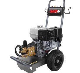 4000 Psi | 15 L/Min | Cold Water High Pressure Cleaner – BAR4013-H (Petrol Drive)