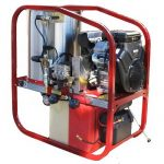 4000 Psi | 18 L/Min | Hot and Cold Water High Pressure Cleaner - BAR4018P-BRE (Petrol Drive)