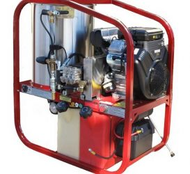 4000 Psi | 18 L/Min | Hot and Cold Water High Pressure Cleaner – BAR4018P-BRE (Petrol Drive)