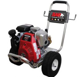 3000 Psi | 9.5 L/Min | Cold Water High Pressure Cleaner – BAR 2550A-H (Petrol Drive)