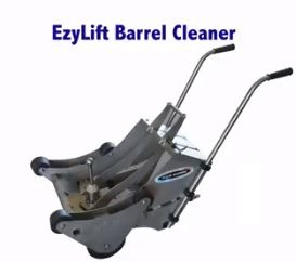 EzyLift – Innovative Wine Barrel Cleaners by Clean Machine, Adelaide