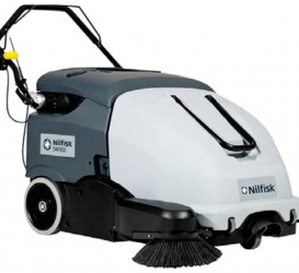 Commercial Walk Behind Sweeper – Nilfisk SW900 (Battery)